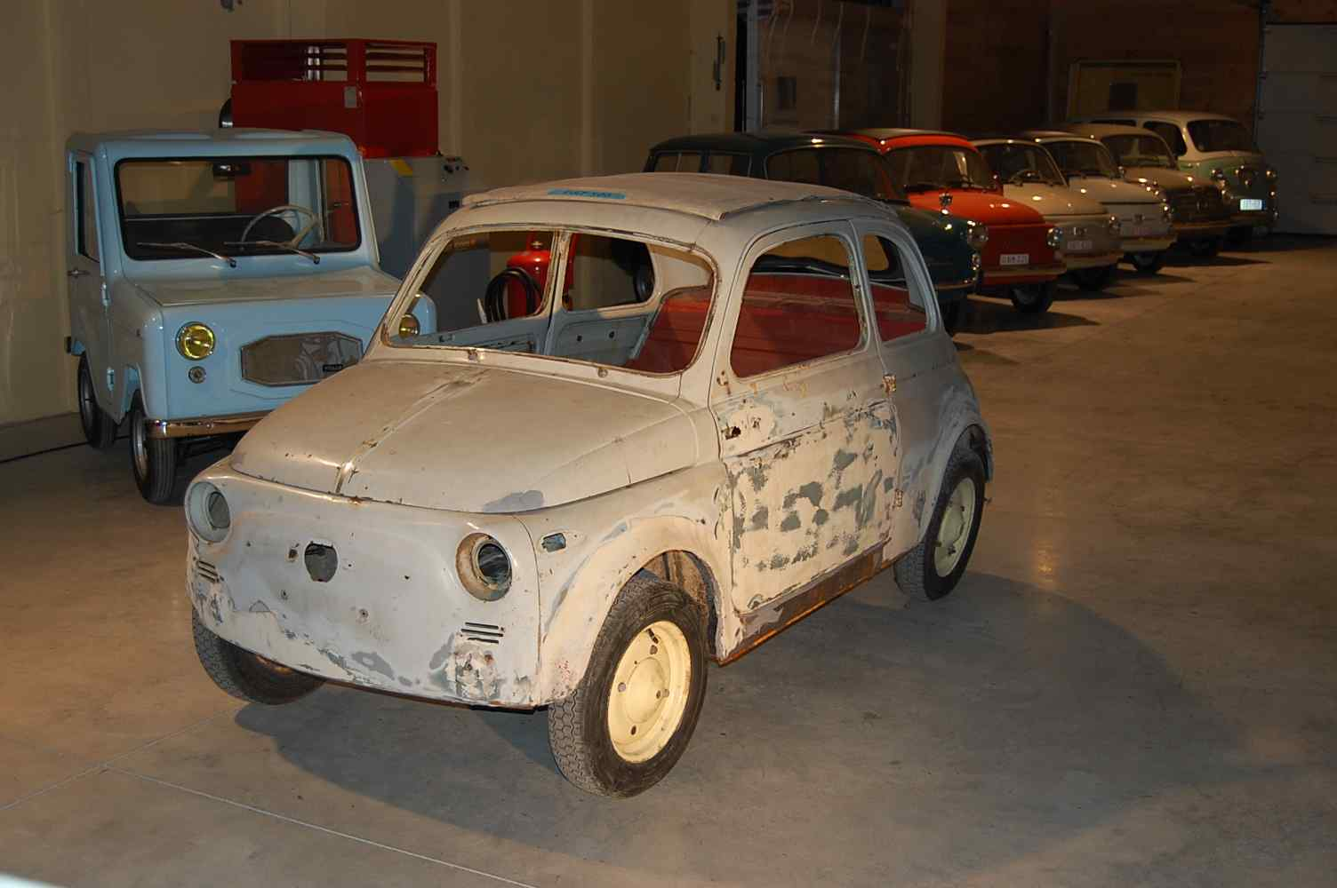 Fiat 500 N First Serie 1958 Classic Car Collection