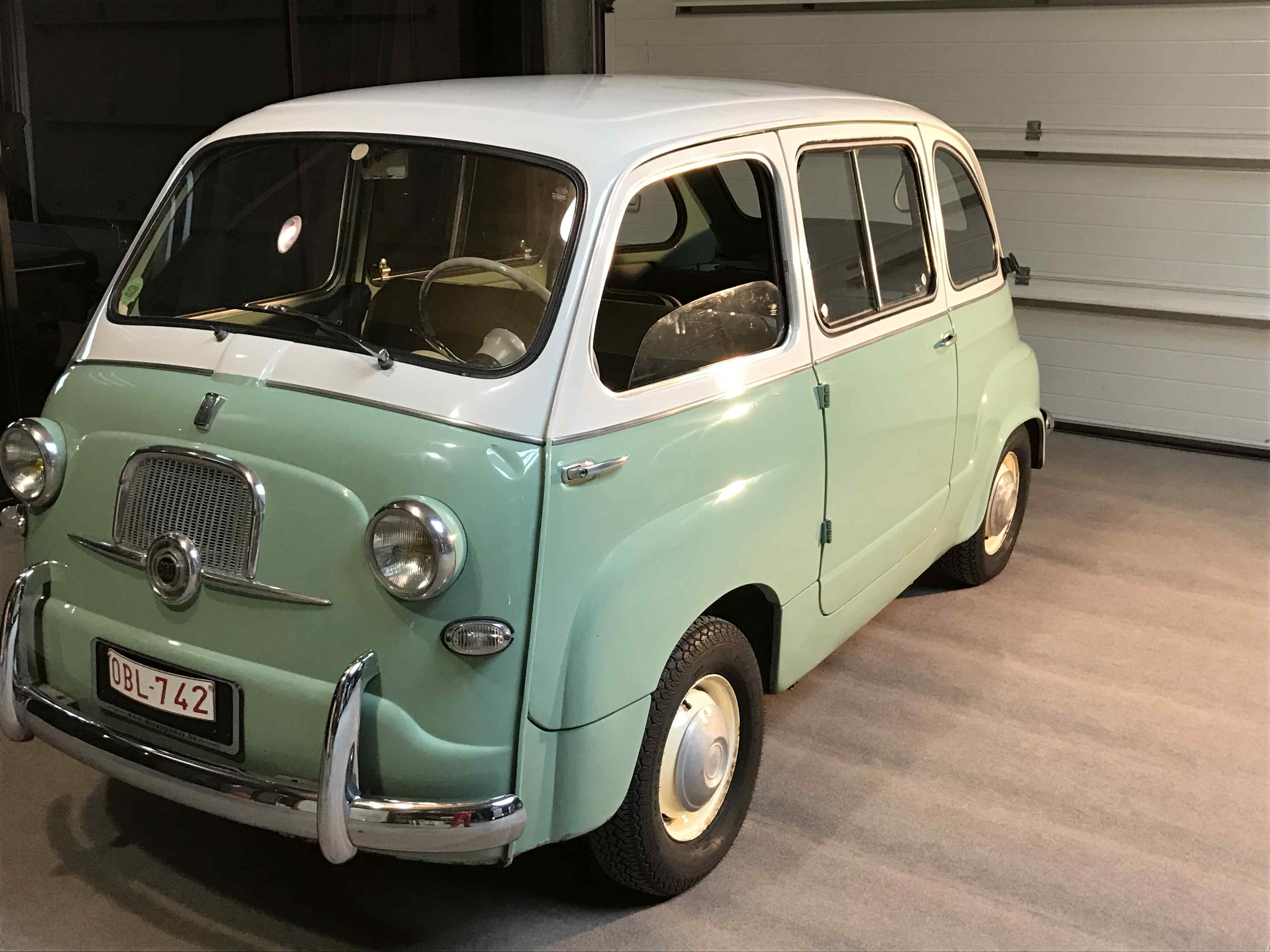 fiat 600 multipla 1959 classic car collection. Black Bedroom Furniture Sets. Home Design Ideas